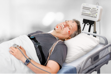 Clinical PSG system (type I sleep monitor)