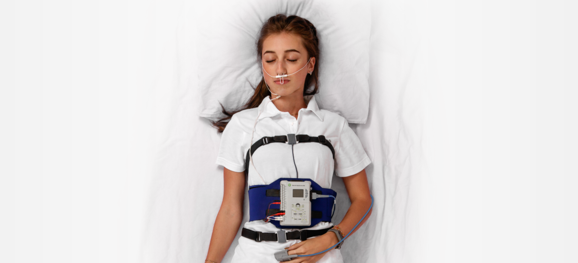 Cardiorespiratory monitor (type III sleep monitor)