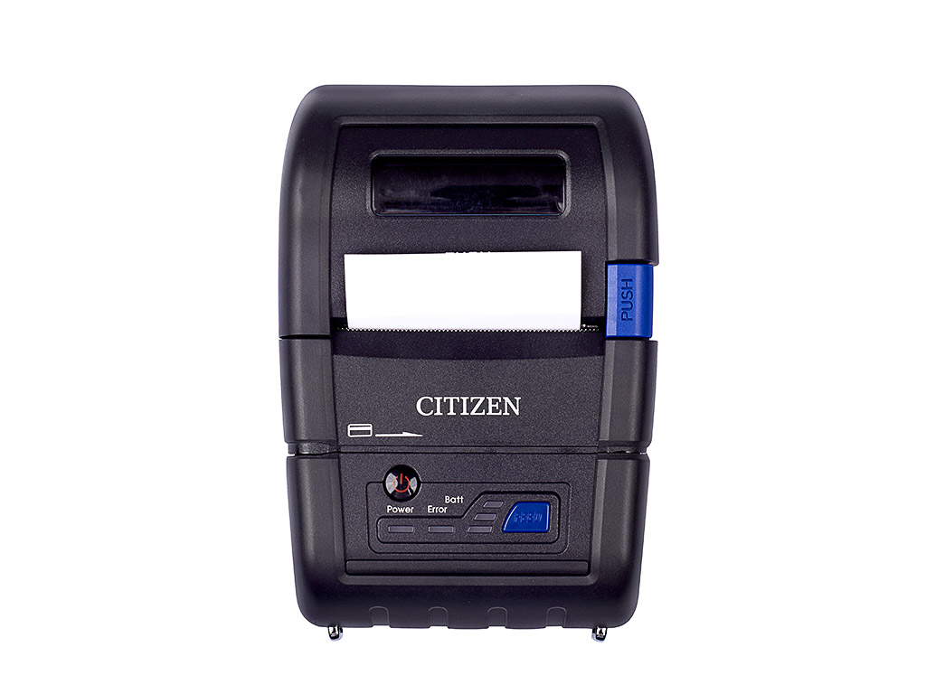 Thermal printer with wireless Bluetooth interface, Citizen