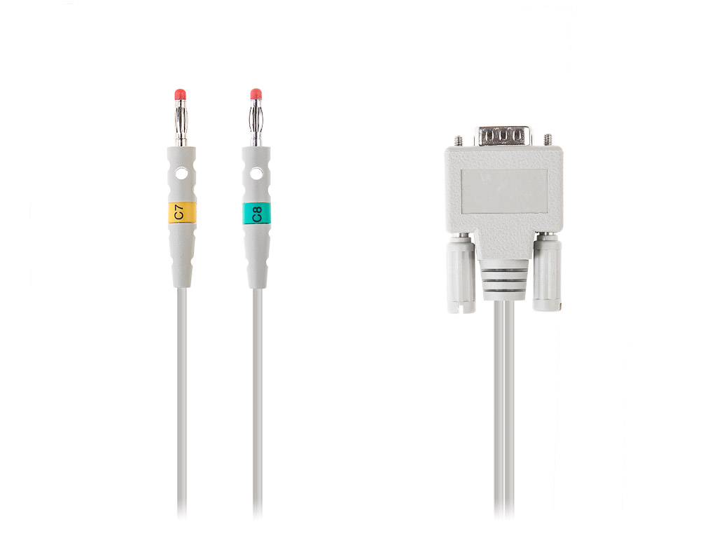 Poly-Spectrum-12/E cable for additional ECG leads