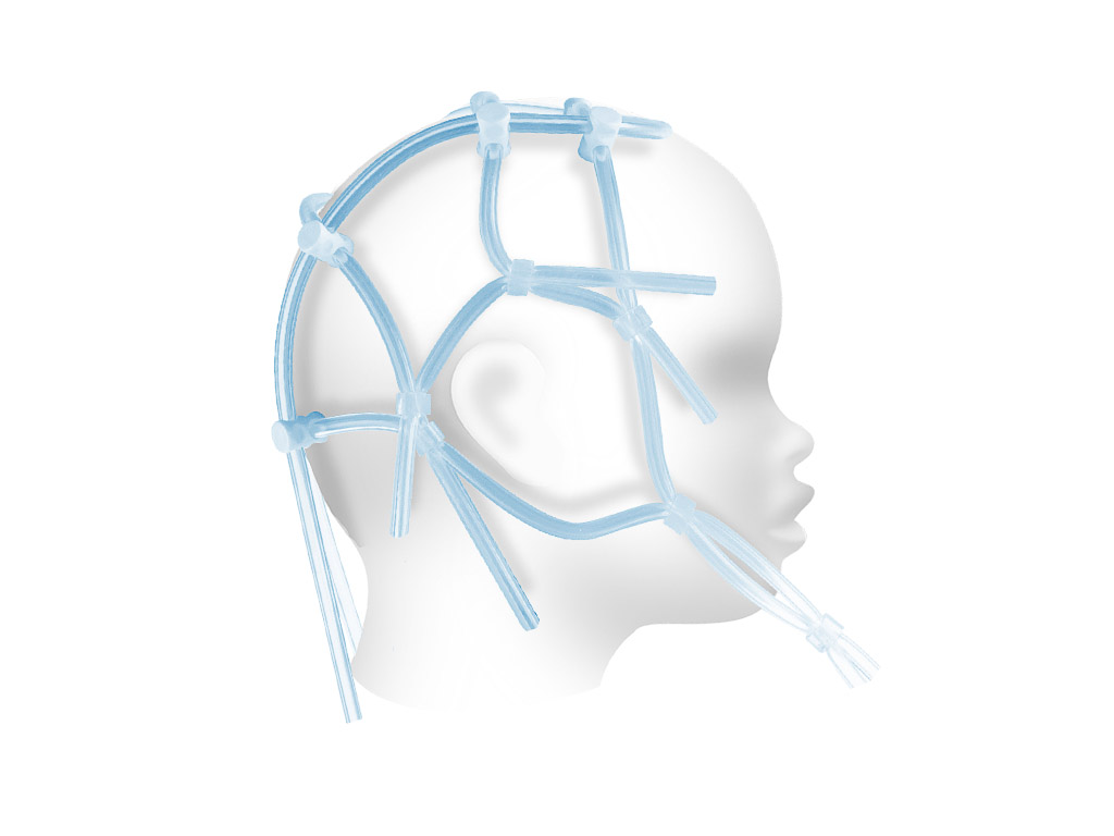 EEG helmet (pediatric)